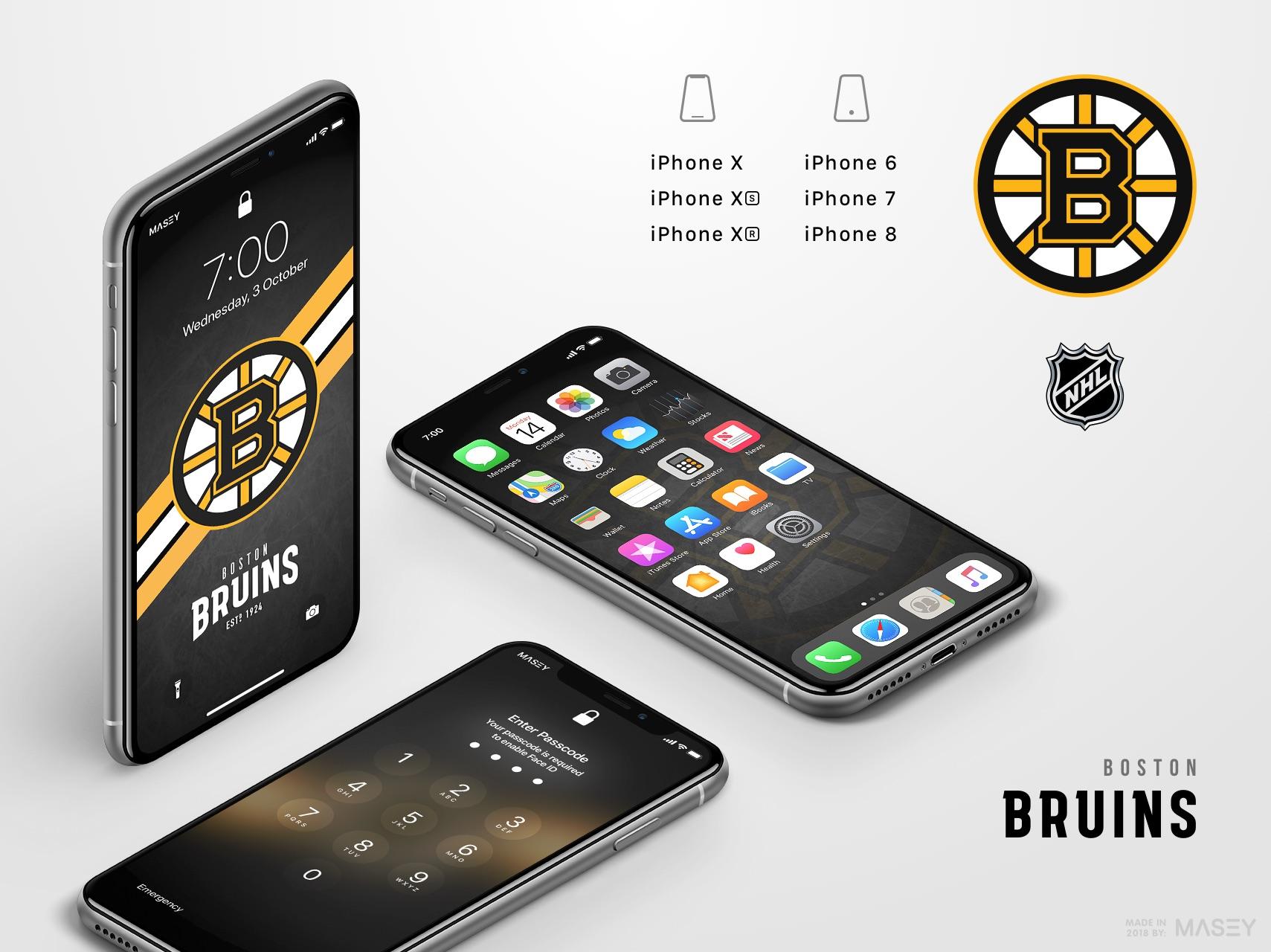 Boston Bruins iPhone Wallpaper