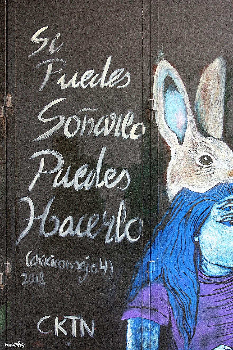 arte urbano barrio del Carmen