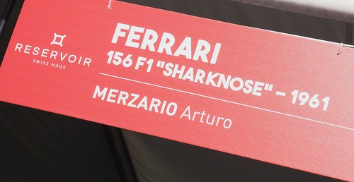 """Ferrari 156 Formula One """"Sharknose"""" 1961 and Arturo Merzario 30064758537_61e9713b7d"""