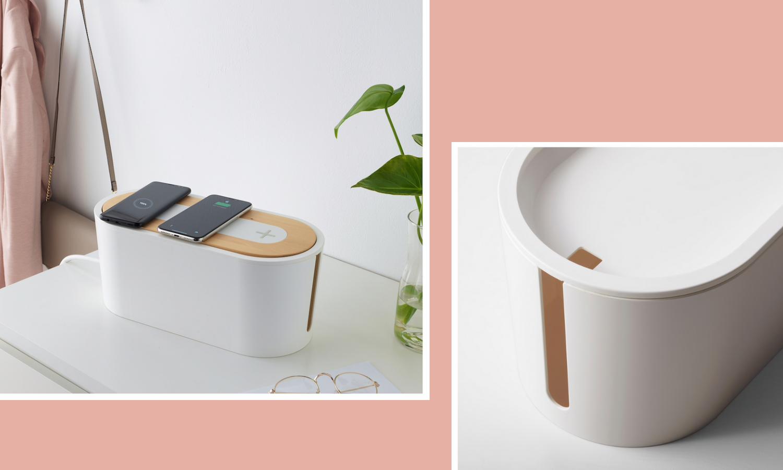 Kabelbox mit Ladestation von Ikea, Bildquelle: ikea.de