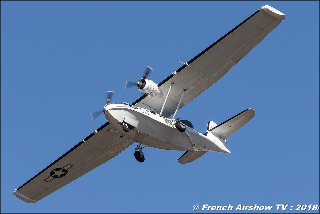 Consolidated PBV-1A Catalina 433915 G-PBYA , Meeting aérien Des Étoiles et des Ailes 2018 - Aéroport de Toulouse Francazal , Canon EOS , Sigma France , contemporary lens , Meeting Aerien 2018