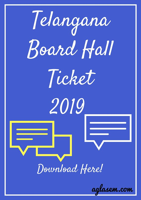 Telangana Hall Ticket 2019