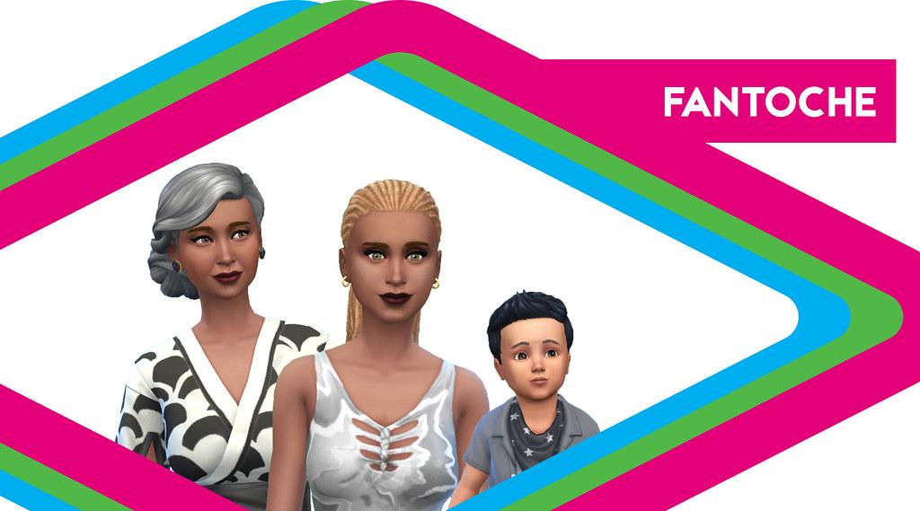 Sims de antaño: Los Fantoche