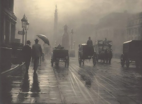 Image of Waterloo Place, London, 1899, after being upsized using Topaz A.I. Gigapixel