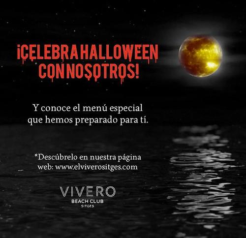 Cena especial Halloween El Vivero