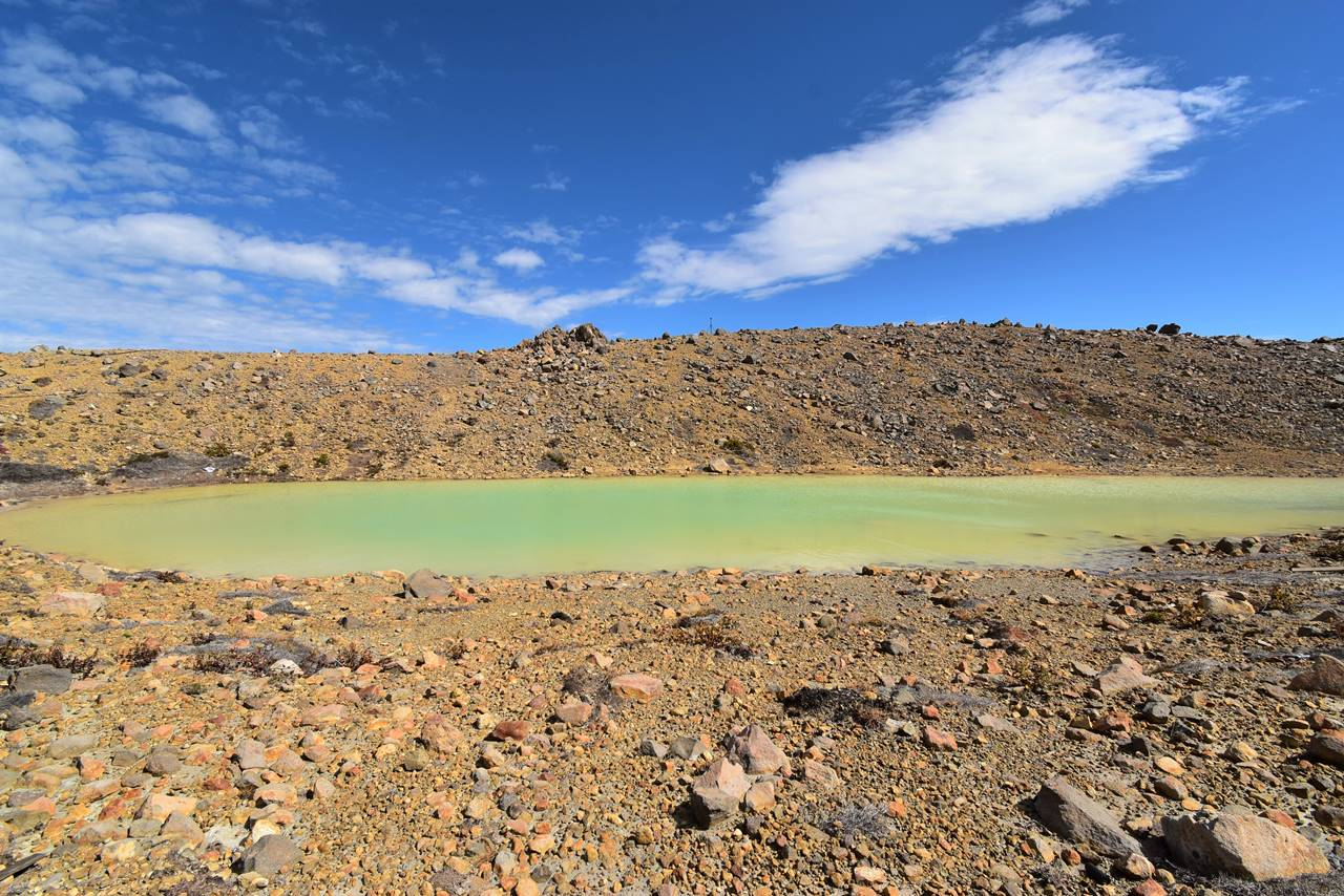 御嶽山・二の池
