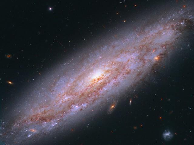 VCSE - Az NGC 3972 jelű spirálgalaxis a Hubble Űrtávcső felvételén. - HST, NASA, ESA
