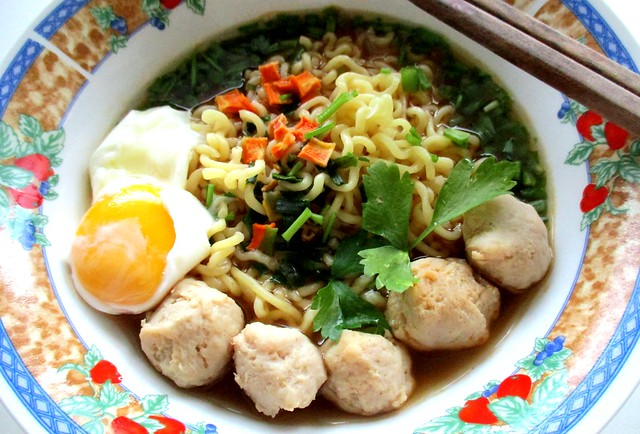 Koreno spicy beef noodles 1