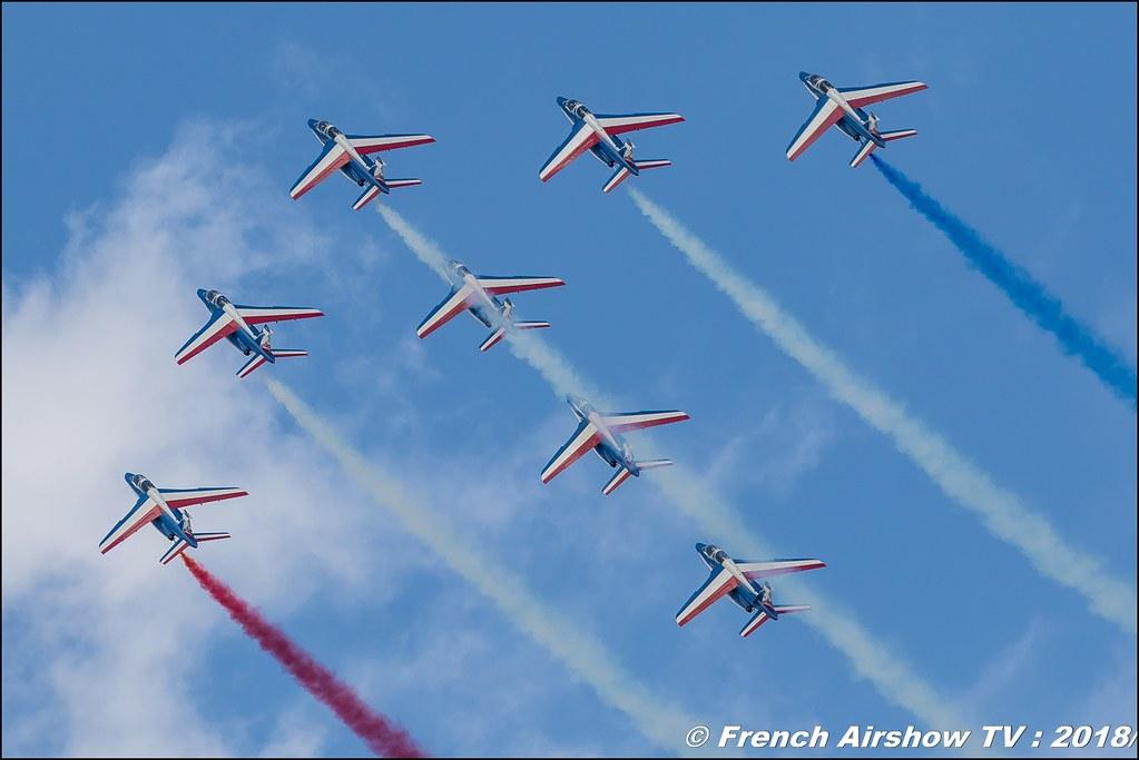 Patrouille de France , Meeting aérien Des Étoiles et des Ailes 2018 - Aéroport de Toulouse Francazal , Canon EOS , Sigma France , contemporary lens , Meeting Aerien 2018