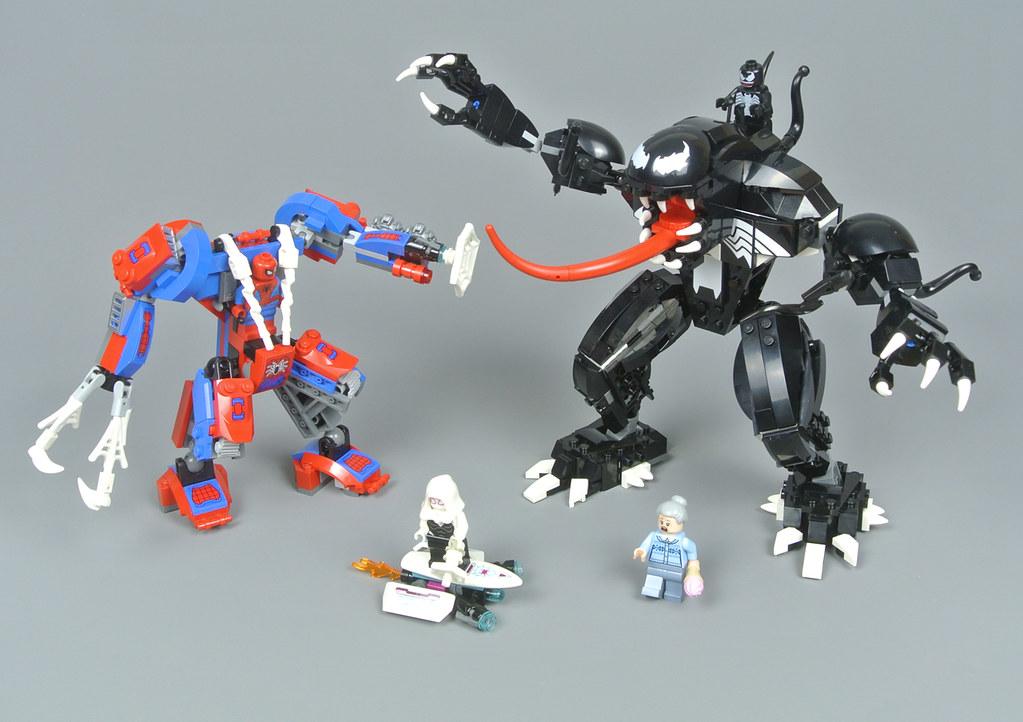 NEW LEGO MARVEL 76115 SPIDER-MAN MINIFIGURE /& SPIDER MECH BUILD ONLY!