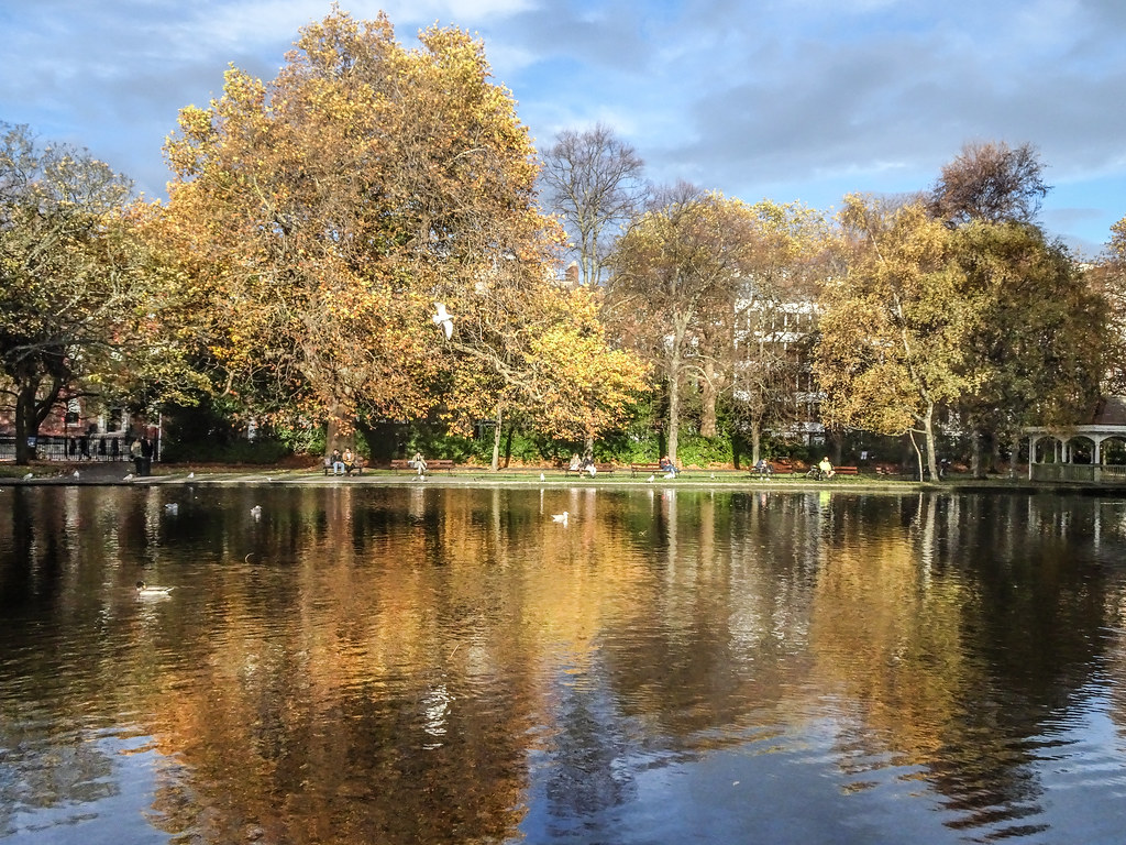 ST. STEPHEN'S GREEN IN AUTUMN 012
