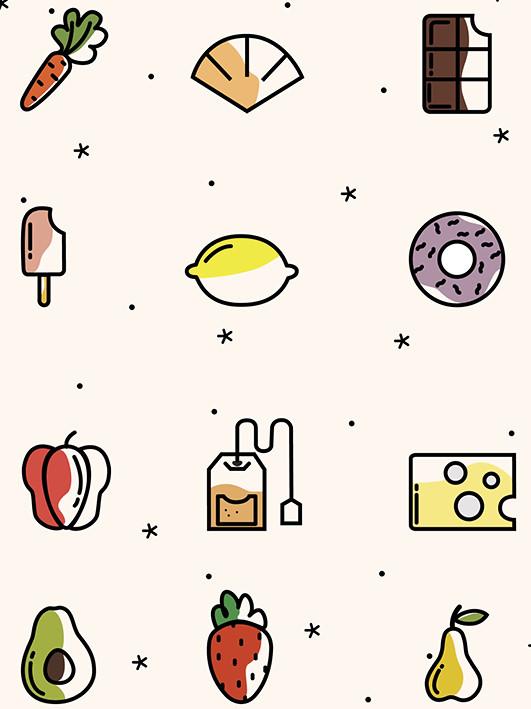 Les Gourmandises sur l'étagère