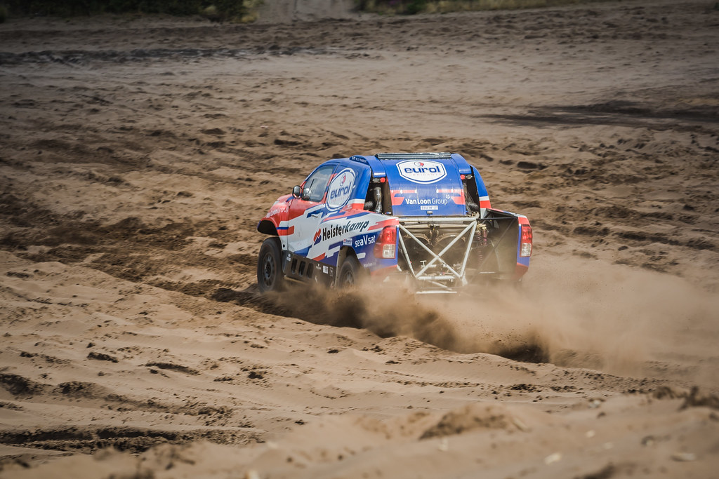 Succesvolle test in aanloop naar Rallye du Maroc voor Van Loon Racing