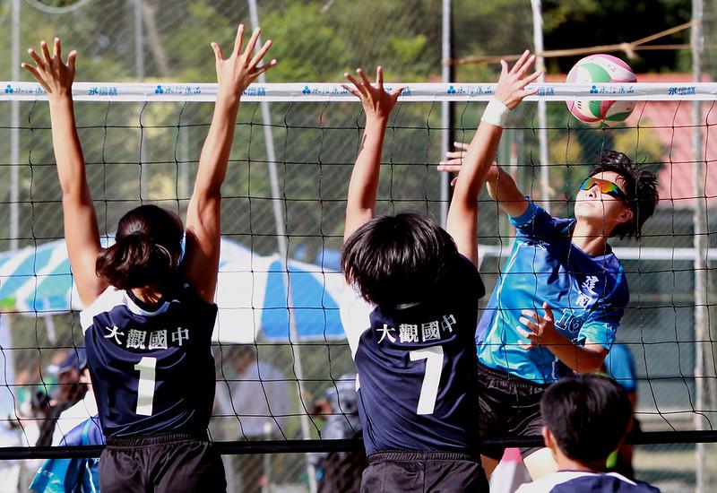 建國中學(淺藍)奪下永信盃冠軍。(主辦單位提供)