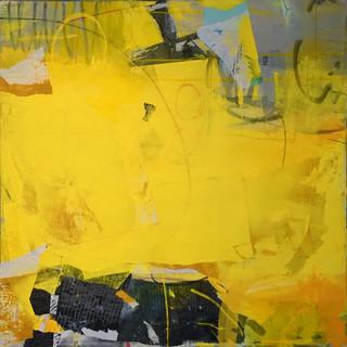 Yellow Cumulus by Karen Z. Haynes