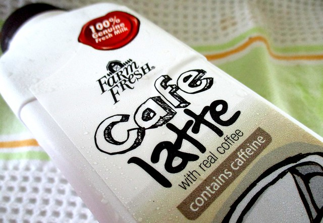 100% genuine fresh milk and real coffee