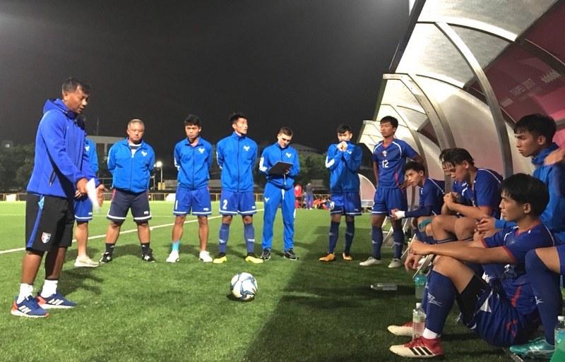 U19男足代表隊。(足協提供)