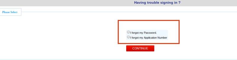 CMAT 2019 Admit Card Forget Password