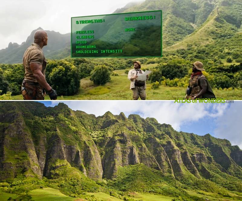 Filming in Kualoa ranch