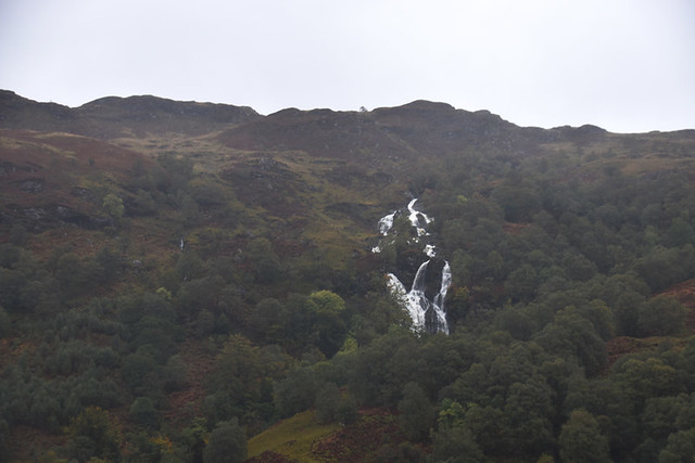 Waterfall on the West Highland Way, Scotland