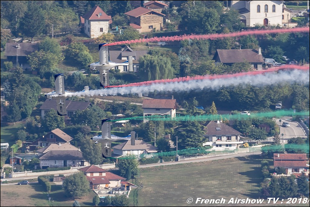 WEFLY! TEAM , civilian aerobatic team Italy , Coupe Icare 2018 , Canon EOS , Sigma France , contemporary lens , Meeting Aerien 2018