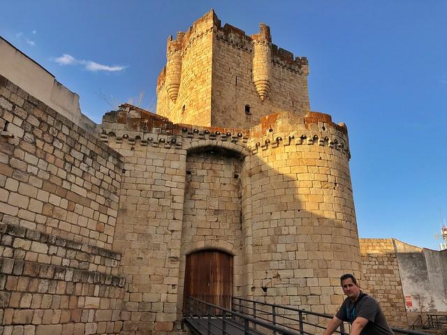 Sele en el castillo de Coria (Cáceres)