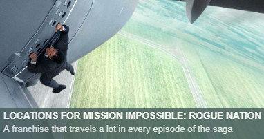 Dónde se rodó Misión Imposible Nación Secreta