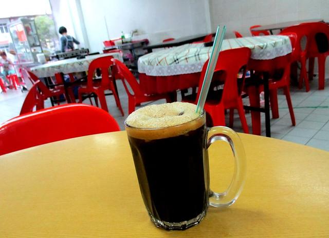 Ah Kau Cafe kopi-o-peng