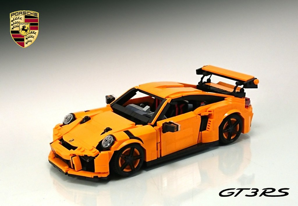 lego moc porsche 911 gt3 rs hello everyone long time no. Black Bedroom Furniture Sets. Home Design Ideas