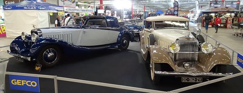Hispano Suiza K6 Fernadez & Darrin 1937 et K6 Vanvooren 1935 43502555160_56d6893b78_c