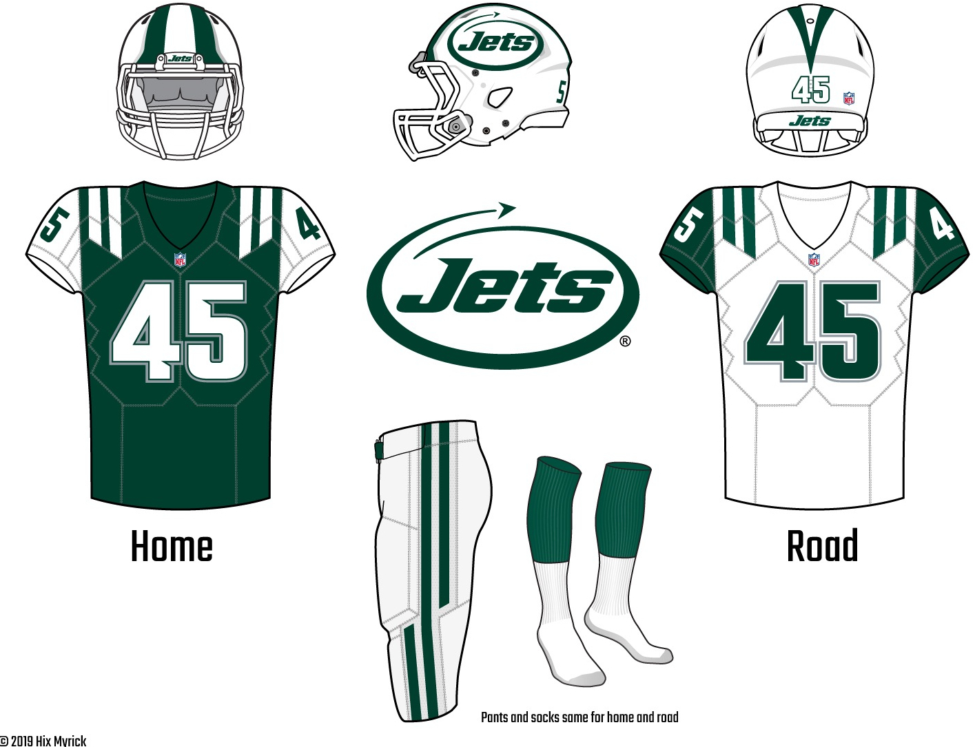 newest d6d9a 9adb0 Uni Watch delivers the winning entries for the New York Jets ...