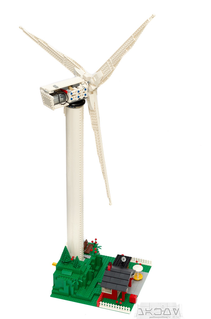 REVIEW] 10268 - Vestas Wind Turbine - Special LEGO Themes
