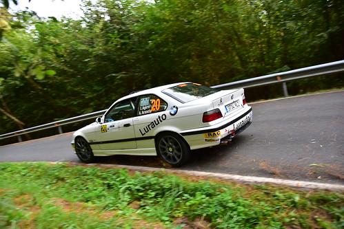 Iokin Agirre - Arantzazu Araneta, BMW M3, XXV Rallye de Gernika 2018