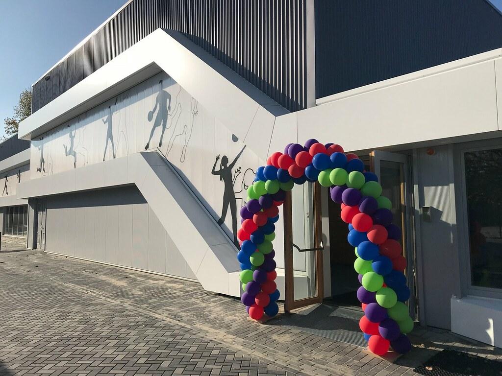 Officiële opening sporthal De wissel