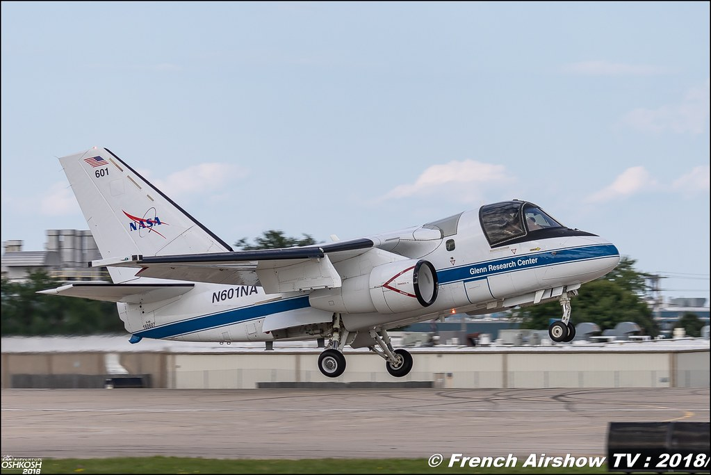 Lockheed S-3 Viking Aircraft Joins Research Fleet NASA EAA AirVenture Oshkosh 2018 Wisconsin Canon Sigma France contemporary lens Meeting Aerien 2018
