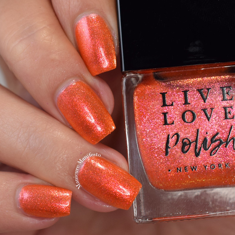 Live Love Polish Saffron swatch