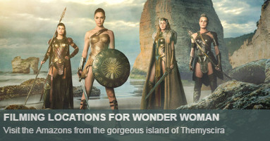 Wonder Woman Locations