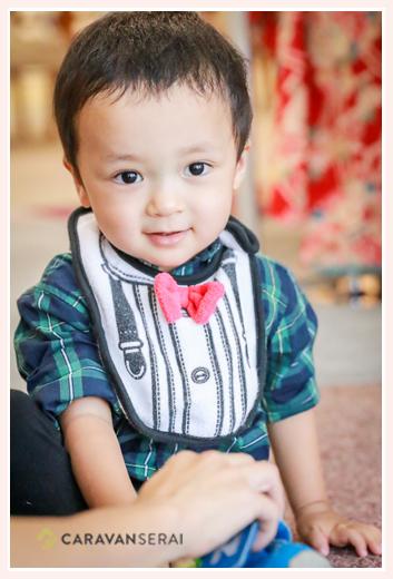 2歳の男の子