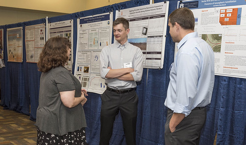 Assistant Professor Mark Schall discusses his work at the 2017 symposium