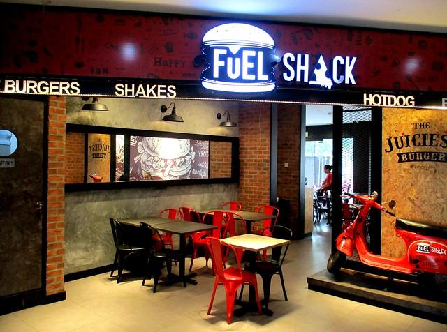Fuel Shack inside entrance