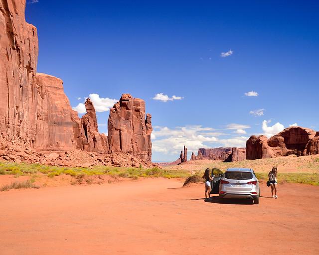 Camel Butte, durante nuestra ruta en coche aparcados