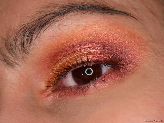 Copper eyeshadow tutorial