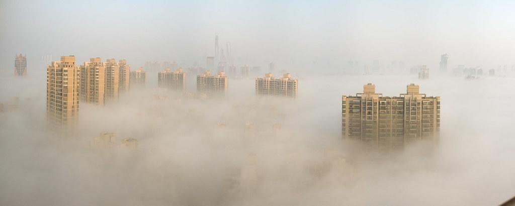 空氣污染。圖片來源:leniners(CC BY-NC 2.0)
