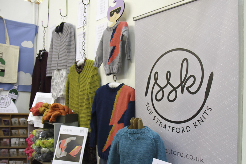 Sue Stratford Knits at the Knitting & Stitching Show