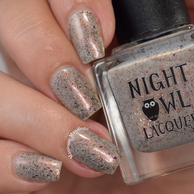 Night Owl Lacquer You Heard About Pluto swatch