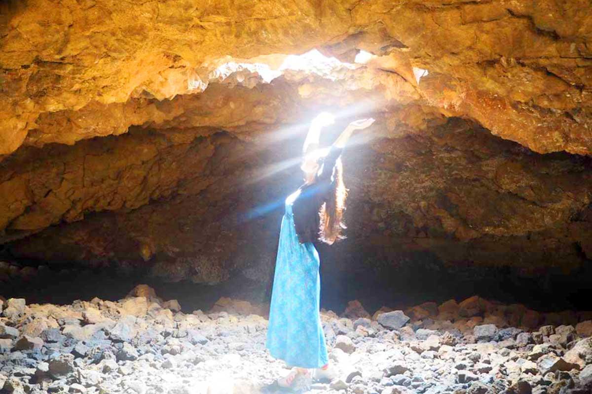 世界三大パワースポットのひとつに数えらえてるマウナラニの「オーラの洞窟」