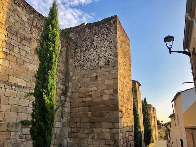 Murallas romanas de Coria (Cáceres)
