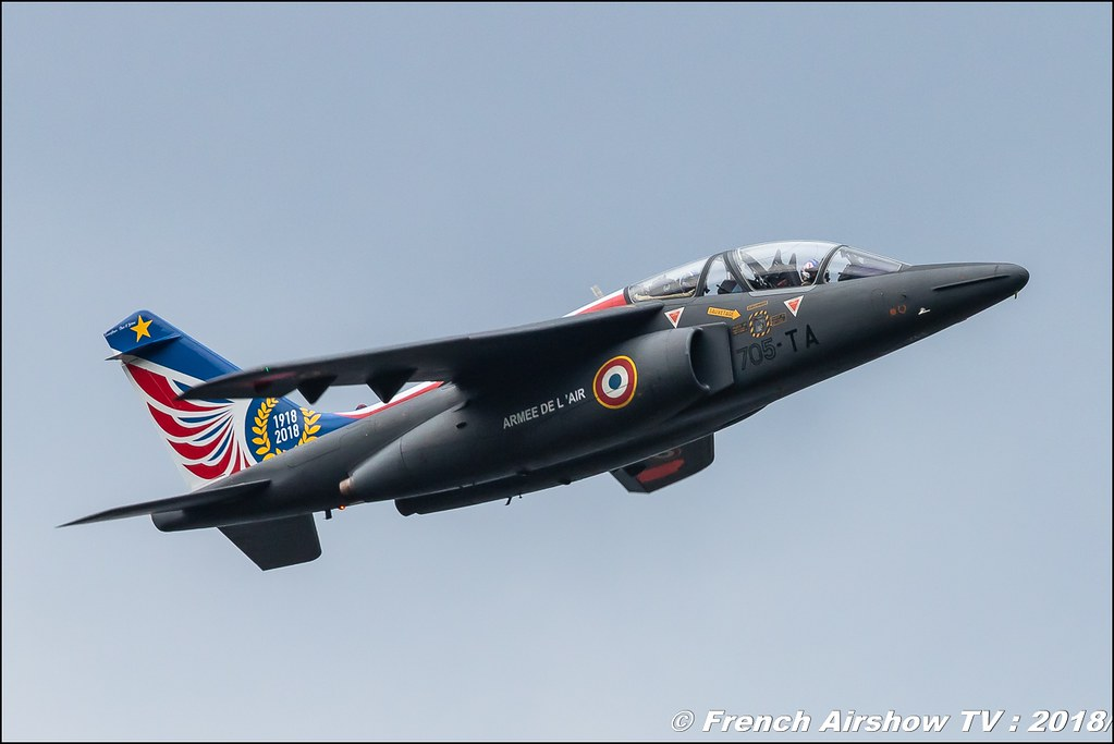 Alphajet Solo Display , Coupe Icare 2018 , Canon EOS , Sigma France , contemporary lens , Meeting Aerien 2018