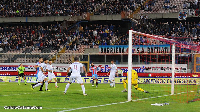 Marotta primo gol al Massimino