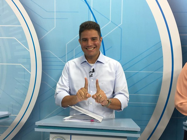 Debate da TV Record na campanha ao governo do estado do Acre